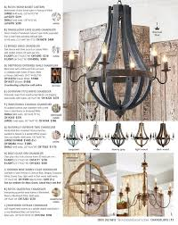rustic wood and rusty metal chandelier