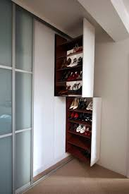 Nice Pull Out Shoe Storage David Myron These Pull Out Shoe Racks Provide  Neat Bespoke