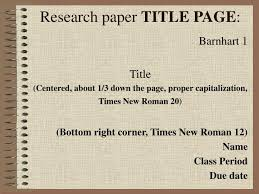 ppt research paper title page powerpoint presentation id  research paper title page