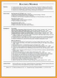 Teacher Resume Sample 117sample Resume Teaching Sample Resume For