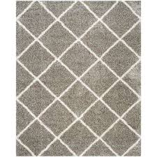hudson gray ivory 8 ft x 10 ft area rug