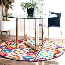 5 round area rugs round area rugs retro tribal diamonds round rug 5 round 3