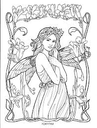 Water Fairy Coloring Pages At Getdrawingscom Free For Personal