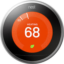 motorola ac1900. nest - learning thermostat 3rd generation stainless steel larger front motorola ac1900 c