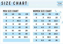Toms Size Chart Toms Classic Natural Metallic Jute
