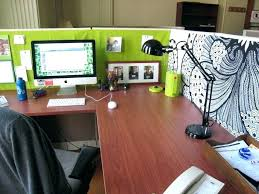 office desk work. Office Table Decoration Desk Work Cubicle Items Organization Ideas Simple Decorations E