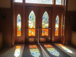 photo of st peter s cath church skokie il united states light shining