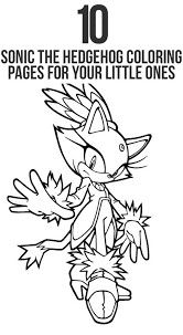 Small Picture Sonic The Hedgehog Printable Coloring Pages qlyviewcom
