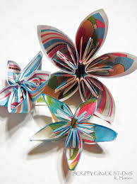 Folding Paper Flower List Of Synonyms And Antonyms Of The Word Japanese Paper Flowers