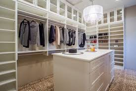 bright white custom walk in closet phoenix