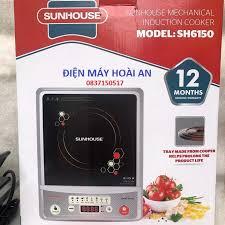 Bếp điện từ đơn Sunhouse SH6150 (TRẮNG BẠC)