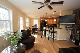 Kitchen And Living Room Flooring Magnificent Flooring Ideas For Family Room Remodelling Fresh In