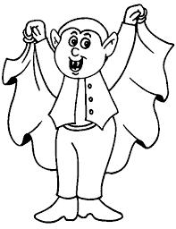 Gratis Vampier Kleurplaten Voor Kinderen 6