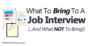 Awesome Bring A Copy Of Resume To Interview Contemporary - Simple .