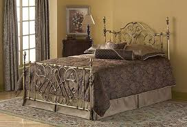 wrought iron bedroom furniture. Georgian Wrought Iron Bed Frame With Elegant Grey Carpet For Classic Bedroom Ideas Pale Yellow Wall Color Furniture R