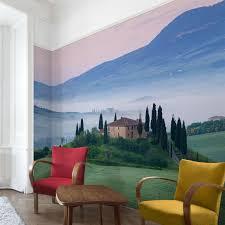 Vlies Tapete Wand Bilder Sonnenaufgang In Toskana Fototapete Deko