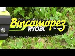 <b>Высоторез Ryobi RPP755E</b> / Отличная пила для дачи / Удаляем ...