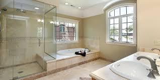bathroom remodeler adds drop in tub for spa like soaking tub