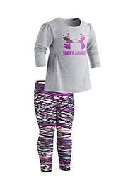 under armour shirts for girls. 2-piece big logo top and leggings set toddler girls under armour shirts for