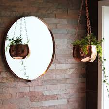 Small Picture Copper Round Wall Mirror Me and My Trend