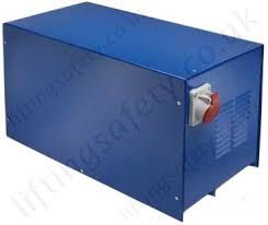 lifting equipment power converters for electric hoists and winches smaller converters