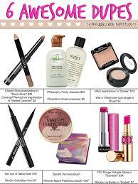 makeup beauty dupe