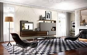 Progettazione Dinterni Bergamo : Soggiorni moderni componibili su misura classici e vintage