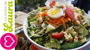 Recetas De Comidas Light Con Pollo Ensalada Con Pollo A La Plancha Comida Saludable Chichen Salad With Light Dressing