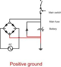 wiring diagrams norton commando classic motorcycles the next two are for negative ground using either a two or three phase alternator rectifier regulators like the podtronic are the same for either two or