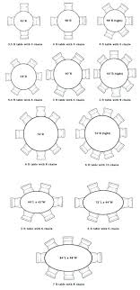 6 foot round table chart linen
