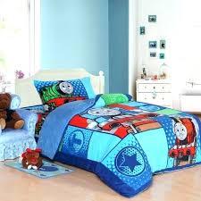 thomas the train toddler bed set bed train kids bedding set queen size cartoon blue children