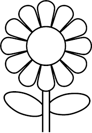 Coloring Pages Peace Style Daisy Google Search Moedervaderdag