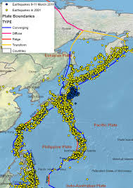 esri arcwatch april   understanding japan's earthquakes from