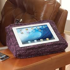 the sweater knit lap desk pillow that s even softer than it looks