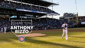 Chicago Cubs - To Anthony Rizzo, the ...