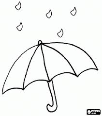 Small Picture Raindrops on an open umbrella coloring page bjl Digis