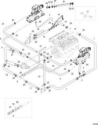 КатаРог запчастей mercruiser остаРьные mx 6 2l mpi bravo 0w650000 standard cooling system bravo single and 3 point drain