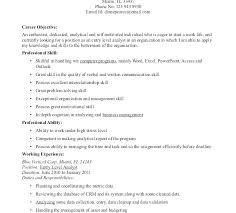 It Resumes Entry Level Resume Objective Download Statement Examples