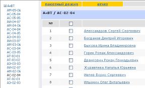 Инструкция по работе с задачей Темы курсовых работ Инструкция  Кафедра увидит список групп в которых она ведет курсовые работы проекты После выбора студенческой группы на экране отобразиться список студентов рис