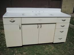 vintage kitchen sink cabinet. Antique Vintage Youngstown Kitchen Cabinet Sink Base W/Double Basin 1950\u0027s K