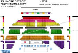 Fillmore Seating Chart Oconnorhomesinc Com Various Fillmore Detroit Seat Map