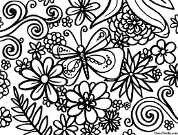 coloring free coloring pages for s printable hard to color 2 spring pictures