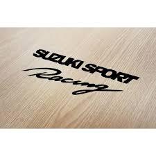 suzuki sport racing logo cars decals