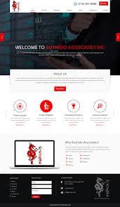 Provo Web Design Modern Professional It Company Web Design For Bushido