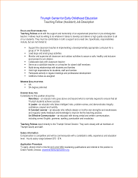 Awesome Collection Of 12 Early Childhood Education Cover Letter