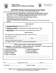 Fax Form Pdf Access Florida Fax Form Fill Out And Sign Printable Pdf