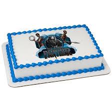 Marvel Black Panther Wakanda Warriors 14 Sheet Custom Cake Cupcake