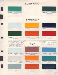 Paint Chips 1964 Ford Truck Car Paint Colors Truck Paint