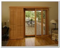 sliding glass doors with blinds panel sl 9289 ingenious idea wood blinds for sliding patio doors