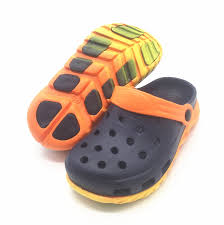 Us 10 43 42 Off Kids Boys Summer Mules Sandals Neon Light Croc Clogs Slipper Shoes For Boy Size 30 31 32 33 34 35 In Mules Clogs From Mother